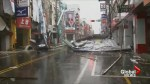 Widespread damage reported as typhoon slams Taiwan