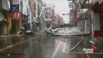 Widespread damage reported as typhoon slams Taiwan