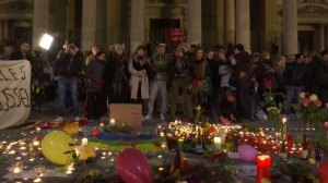 Belgians hold vigil for victims in deadly Brussels attacks