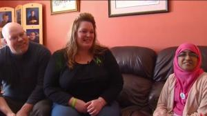 Organ donor recipient and donor family meet after Global News story