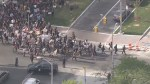 RAW: Large group of protesters march to Baltimore City Hall