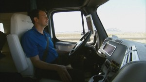 RAW: Daimler releases first self-driving commercial truck
