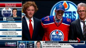 It's official: The Oilers pick McDavid