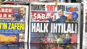 Turkish referendum moves country closer towards authoritarian rule