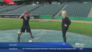 Global News Morning spends Monday at Shaw Park