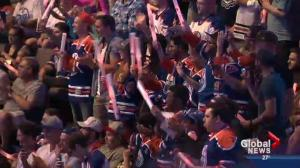 McDavid reaction at Rexall