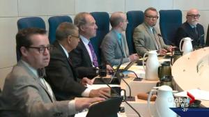 Edmonton city councillors debate budget