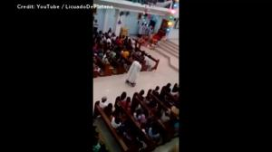 Priest in Philippines punished for riding hoverboard during Christmas Eve mass