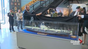 Four new ship models welcomed to Naval Museum as part of Queen's reign celebrations