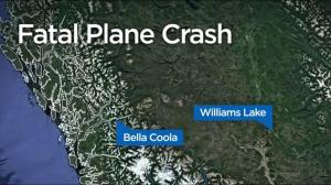 One person dead after plane crash near Anahim Lake