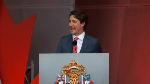 Justin Trudeau celebrates Canada Day in Ottawa