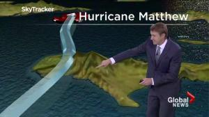 Where is Hurricane Matthew headed next?