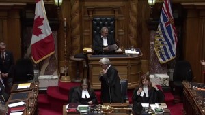 Speaker of the House resigns from B.C. Legislature