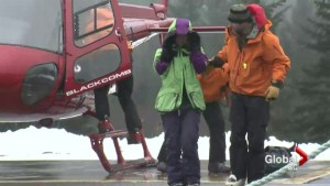 Snowboarder rescued after three days in the Whistler backcountry