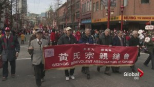 Thousands fill downtown Vancouver for Chinese New Year Parade