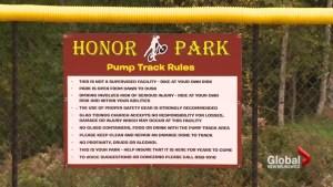 Park Honours Mounties