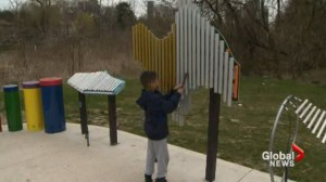 Musical playground at Jeff Healey Park hitting sour note with neighbours.