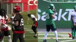 Stampeders and Roughriders keeping a look out for spies at practice
