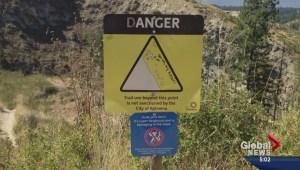 Kelowna woman falls 40 feet while rock climbing