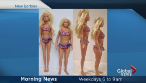 Barbie gets a new body