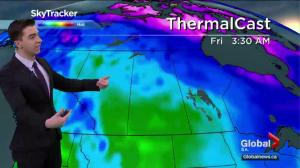 Saskatoon weather outlook – thunderstorms possible Tuesday, big warm up ahead