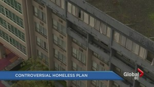 Controversial homeless plan for former 'Quality Inn' on Howe Street