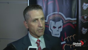 Calgary Hitmen coach Mark French