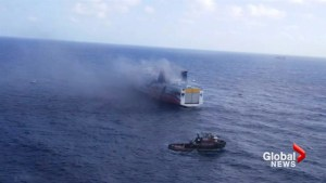 More than 500 evacuated in cruise ship fire near Puerto Rico