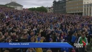Impressive underdogs: Team Iceland triumphs over Team England