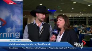Paul Brandt head shave on Friday