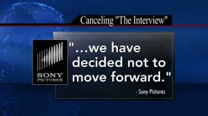 "Sony Pictures canceling release of ""The Interview"" after threats"