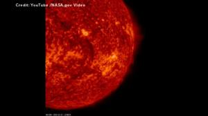 NASA satellite captures eruption from sun