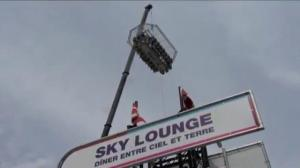 Strong stomach needed for dining in the sky