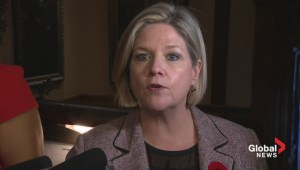 "Horwath: ""If Premier isn't willing to stand up for victims, we have a problem"""