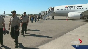 Alberta calls in crews from all over Canada to help with fire season