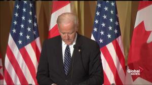 Joe Biden recounts meeting Pierre Elliott Trudeau