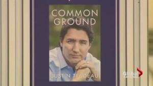 Justin Trudeau's book release