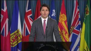 Justin Trudeau urges Canadians to remember themselves in the wake of Ottawa shooting