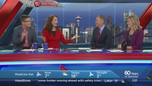 Global Calgary 60th – Barb Mitchell and Gord Gillies