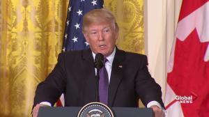 Donald Trump calls North Korea a 'big, big problem'