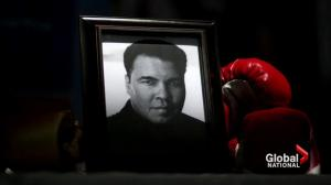 Mourners gather in Louisville to say goodbye to boxing great Muhammed Ali