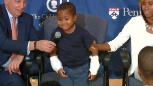 8-year-old boy becomes youngest to receive double hand transplant