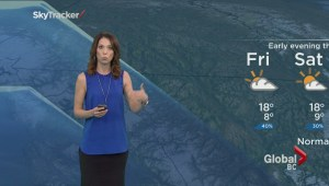 BC Evening Weather Forecast: Jul 30