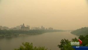 Northern Saskatchewan fires cause air quality concern