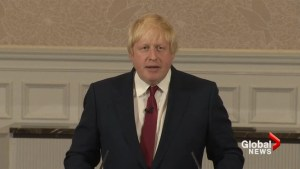 Boris Johnson says he will not run for U.K. prime minister