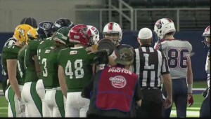 Saskatchewan competed in the International Bowl in Dallas