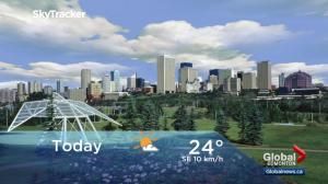 Edmonton early morning weather forecast: Tuesday, August 8, 2017