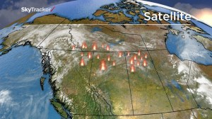 Looking ahead at western Canada's weather forecast as wildfires grow