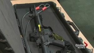 Calgary police officer's assault rifle stolen
