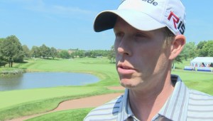 Canada's David Hearn on his 2-shot lead heading into what could be a historic Sunday